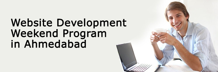 Weekend Program On Website Development Course in Ahmedabad