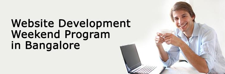Website Development Weekend Program in Banglore