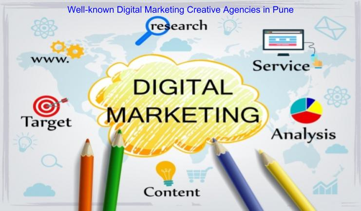 Well-known Digital Marketing Creative Agencies in Pune
