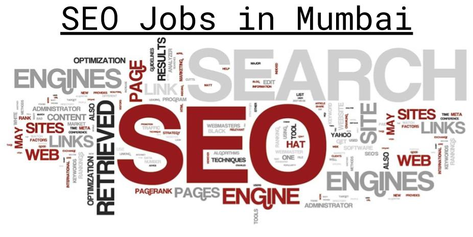 SEO Jobs in Mumbai