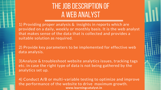 Building a career in web analytics