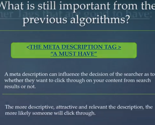 uses of meta description tags in 2019