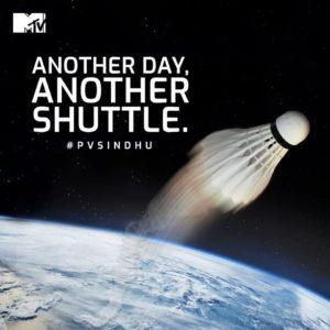 MTV PV Sindhu