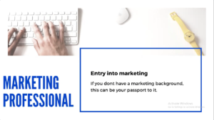 Marketing Professional
