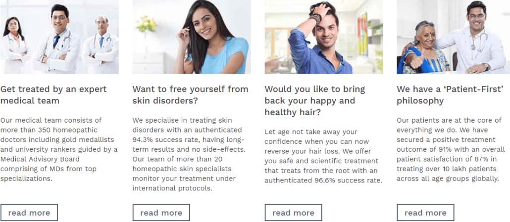 Doctors Blogs example