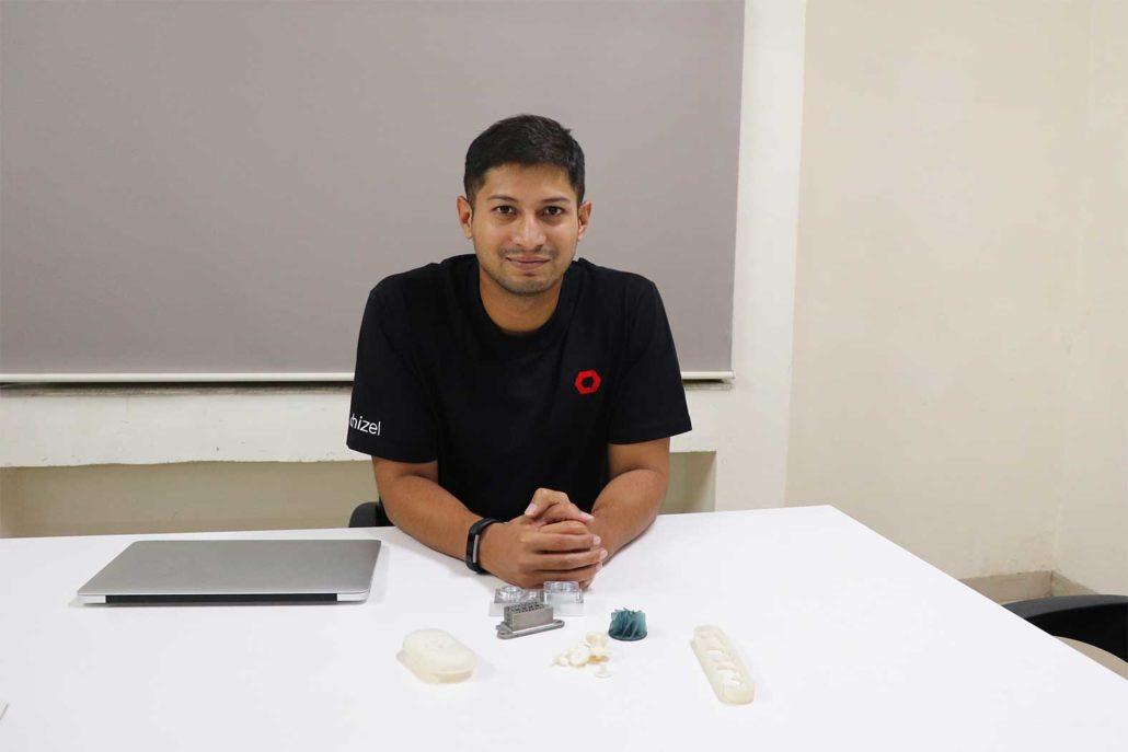 Chizel Prints CEO Yash Rane
