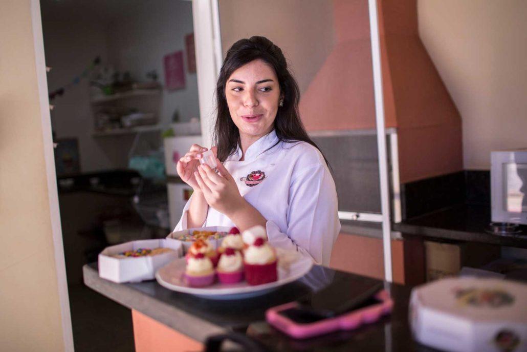 Isa Lepera owner of Cupcakes by Isa